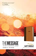 The Message Deluxe Gift Bible (Leather-Look, Brown/Saddle Tan): The Bible in Contemporary Language PDF