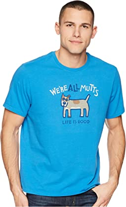 We're All Mutts Smooth Tee