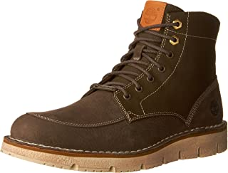 Mens Westmore Leather Fabric Boot