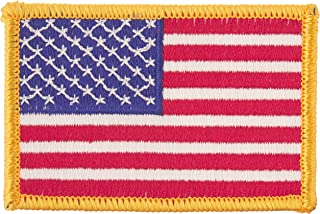 US Flag Store PTUSA American Flag, Standard Patch, Red, White, Blue, Yellow