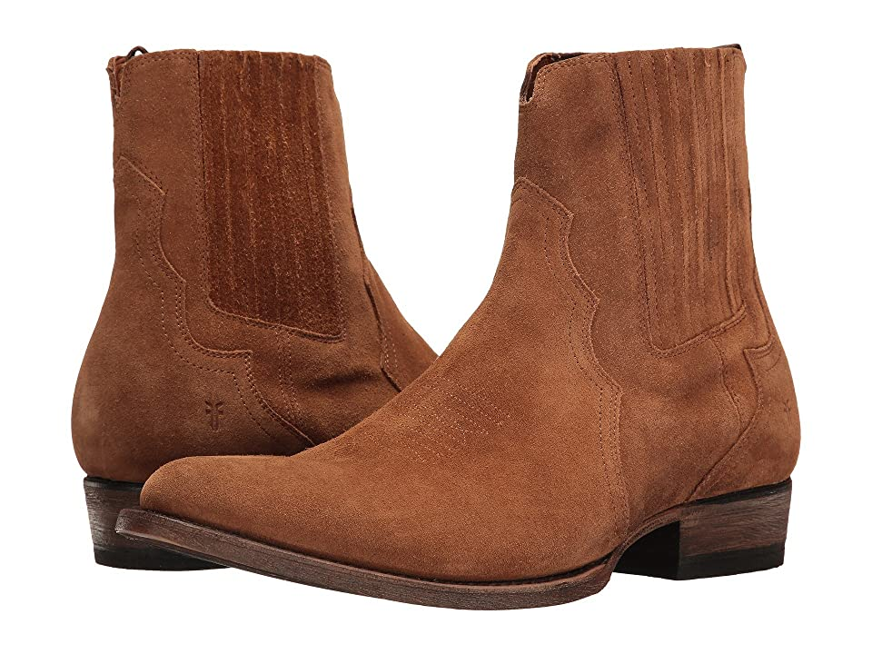 Frye Austin Chelsea (Copper Oiled Suede) Men