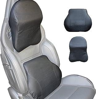 Raffanza Car Seat Lumbar Support & Car Headrest Pillow for Car Seats, Ergonomic Lumbar Support Cushion Helps Relieve Lower...