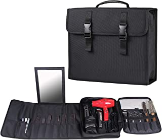 Hair Stylist Traveling Tools Case, Barber Organizer Carrying Bag for Scissor, Clippers, Clips, Trimmer, Grooming and Salon...
