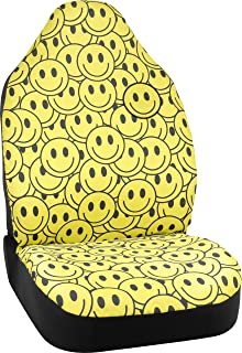smiley face car seat covers