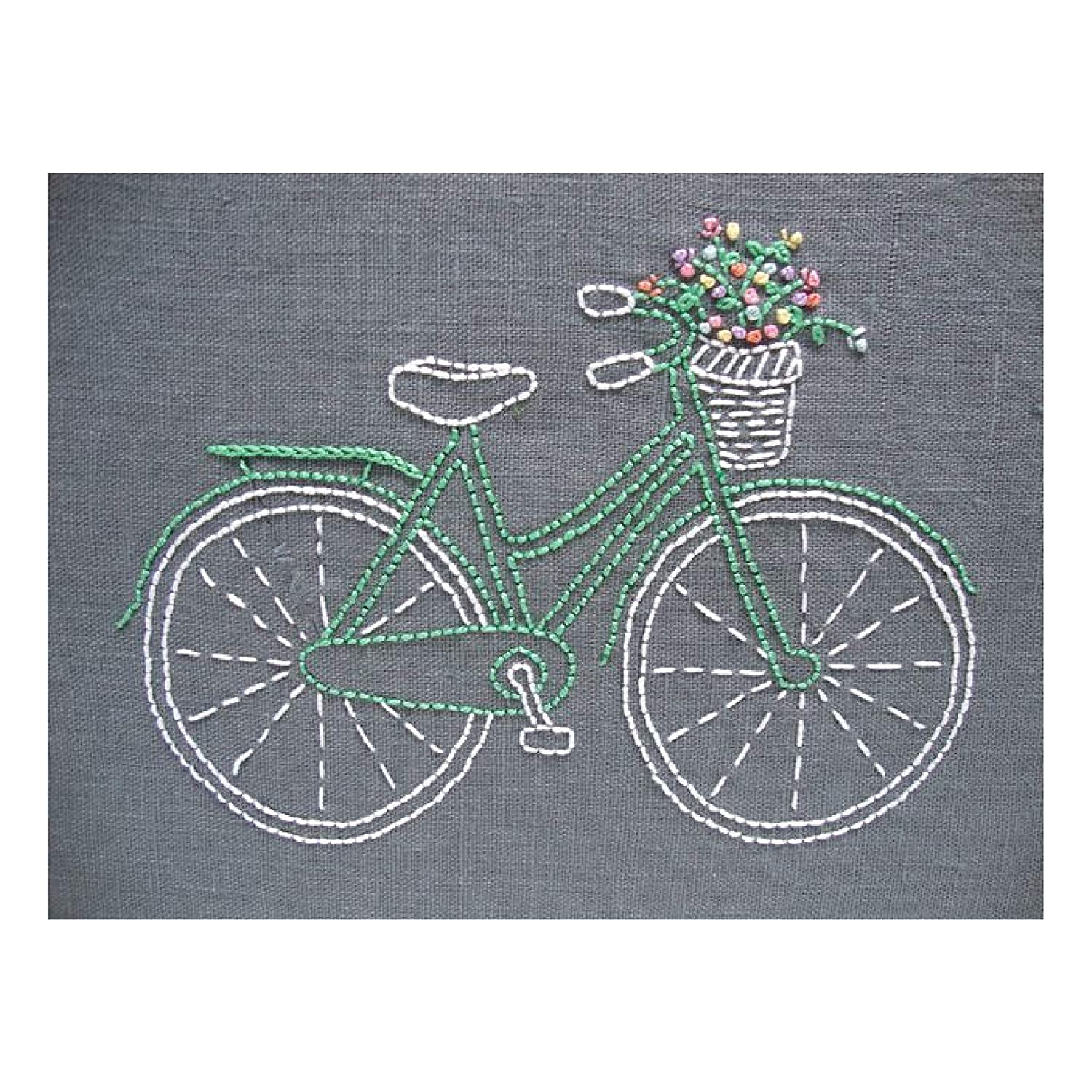 store Bicycle Embroidery Bombing free shipping Kit