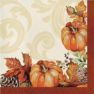 Autumn Wreath Napkins, 48 ct
