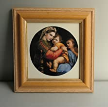 BiblioArt Series ラファエロ・サンティ 限定2個「小椅子の聖母」額装品