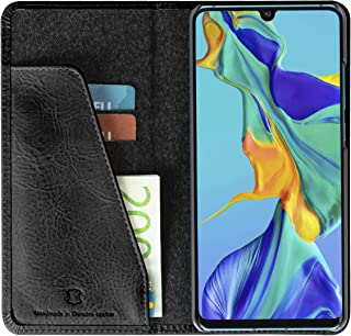 Krusell Unisex Sunne 2 Card Wallet Compatible with Huawei P30 Pro Case - Black