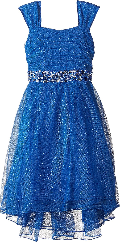 Speechless Little Girls' Glitter High/Low Dress