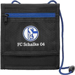 FC Schalke 04 Nylon Geldbörse mit Kette Portemonnaie Geldbeutel Portmonee NEU
