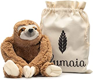 Lulumaia Sloth Heating Pad for Cramps - Cuddly Plush with Microwavable Heating Pad for Neck, Stomach, Back Pain Relief - T...