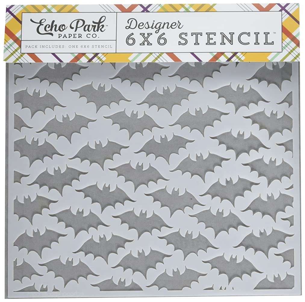 Echo Park Paper Company Bats #2 Stencil
