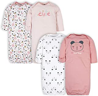 Baby Girls' 4-Pack Gown