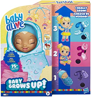 Baby Alive Baby Grows Up (Happy) – Happy Hope or Merry Meadow, Growing and Talking..