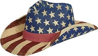 Patriotic Party Printed Cowboy Hat, 5