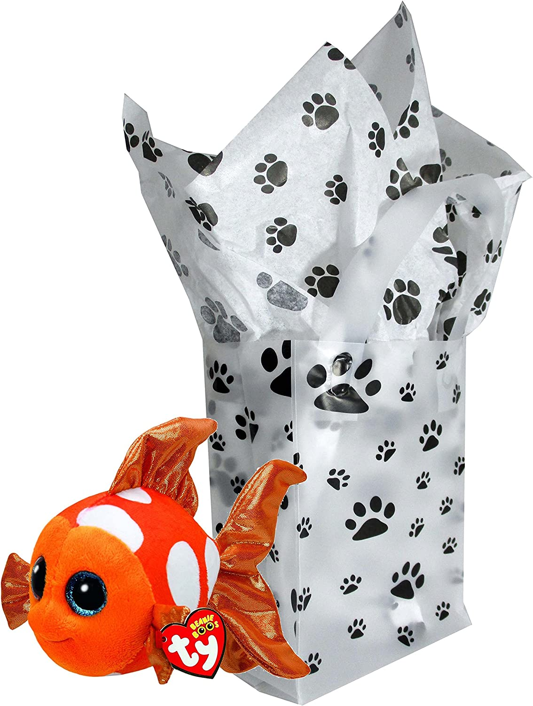 TY Beanie Boo Plush - Sami the orange Fish 15cm by Ty