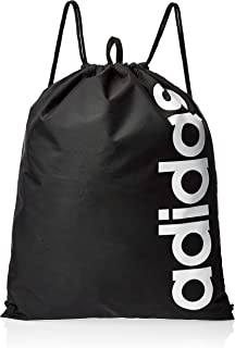 adidas Linear Core, Unisex Adults' Top-Handle Bag, Black (Black/Black/White), 1x37x47 cm (W x H L)