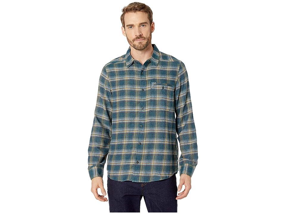 Toad&Co Singlejack Long Sleeve Shirt (Blue Spruce) Men