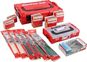 Fischer 077507 DuoPower Duotec - Juego de anclajes adhesivos (841 piezas)