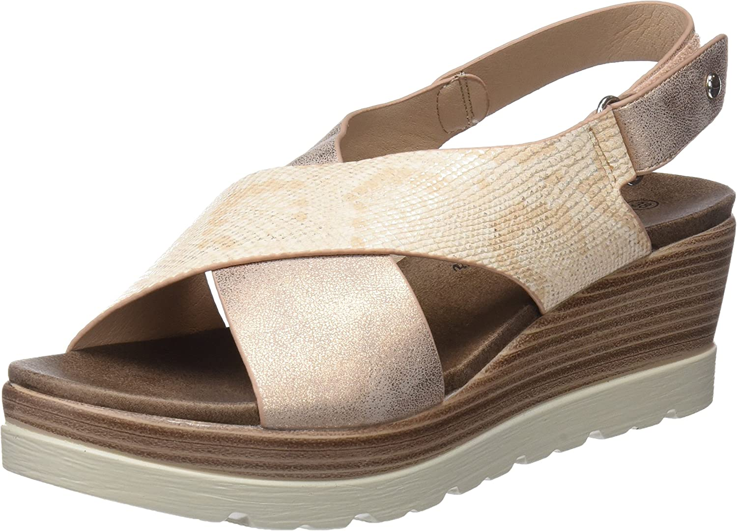 XTI shoes Woman Sandals 47938 Nude