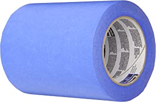 3M 2090 ScotchBlue Painters Tape - 0.25 in. (W) x 180 ft. (L) Masking Tape Roll for Medium Adhesion. Painting Wall Preparation