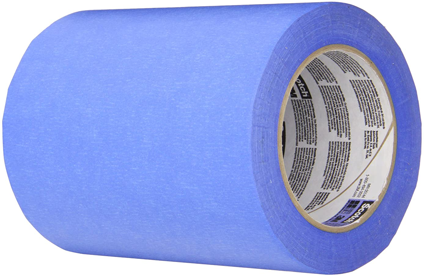 3M 2090?Long-Mask Masking Tape – 2.5 in. x 180 ft. Masking Tape Roll for Medium Adhesion. Painting Wall Preparation