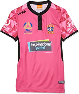 Viva Boys' Newcastle Jets Player Authentic Gk Home Jersey Adult