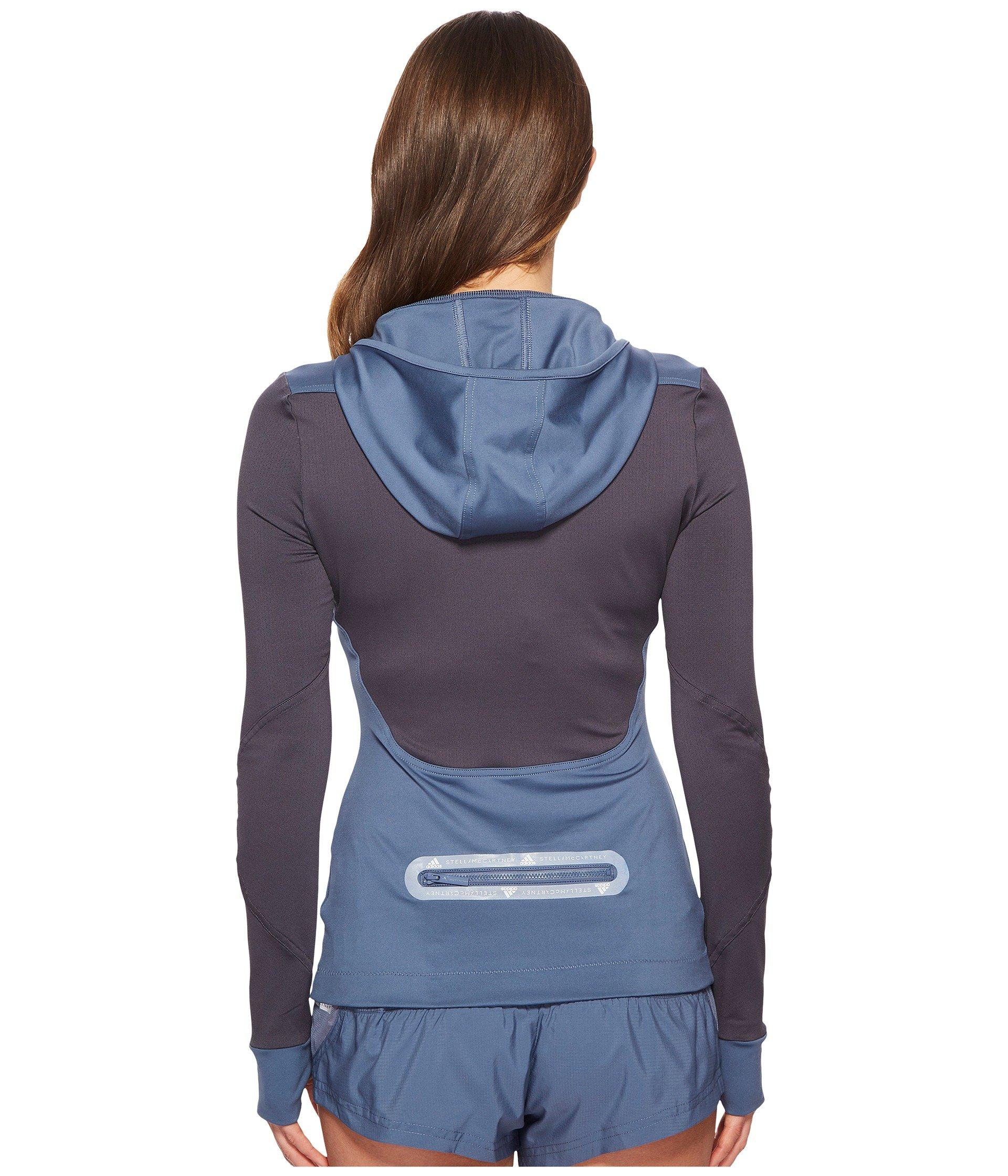 Ink Cg0137 Mccartney By Run Tech Hooded Long Adidas Stella Sleeve xwzB0nqq1F
