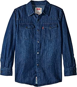 Boys' Western Woven Shirt (Big Kids)