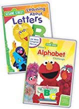 Sesame Street: Elmo's Alphabet Challenge/Learning About Letters 2-Pack