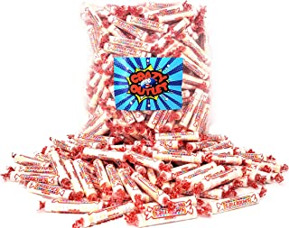 CrazyOutlet Pack - Smarties Assorted Fruit Flavored Hard Candy Rolls, Party Favorite Candy Individually Wrapped, Bulk Pack, 2 Lbs