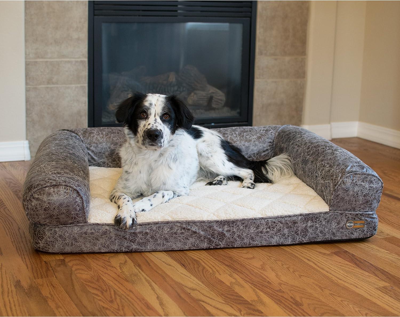 K&H Manufacturing K&H Pet Products Bomber Memory Sofa Orthopedic Memory Foam Dog Bed