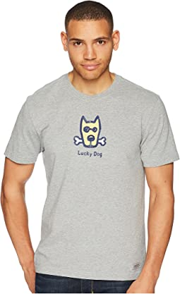 Classic Lucky Dog Crusher Tee