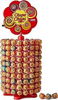 Chupa Chups Carrousel, Best of Lollipops Wheel – 200 lolly's, 7 verschillende fruitige en romige smaken, snoepdisplay voor...