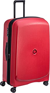 Delsey Paris Belmont Plus 82 cm 4 Wheels Trolley Suitcase (Hardside), Red (00386183004)