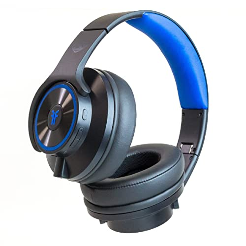 9918e953802 Bluetooth Wireless Headphones that Transform Into Speakers Headphone Black  (FHBINCBK3)