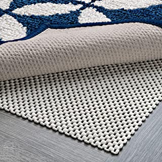 (2.5 x 9) - DoubleCheck Products Non Slip Area Rug Pad Gripper for Hardwood Floors Thick Padding and Supper Grip Size 2.5 X 9