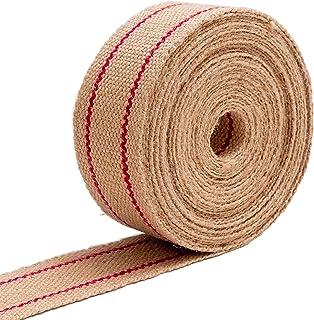 IPEA Courroie en jute pour tapisserie Made in Italy - 10 mètres de long - Corde de ceinture professionnelle pour fond de c...