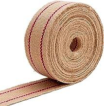 IPEA Jute riem \ jute om te knutselen – Made in Italy – 10 meter lengte – professionele riem voor stoelen, kussens, banke...