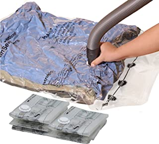 Simple Houseware 5 Pack – Extra Large Vacuum Storage Bags to Space Saver for..
