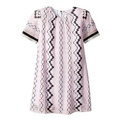 Missoni Kids Rigato Lace Dress (Toddler/Little Kids) (Pink) Girl