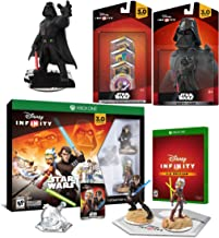 Star Wars X-Box One Darth Vader with Lightsaber Infinity Mega Pack / Anakin Skywalker / Ahsoka Twilight of The Republic - Anakin Skywalker and Ahsoka Tano Play Set + 4 Power Discs 3 figures