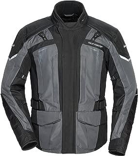 TourMaster Men's Transition Series 5 Jacket Black/Gun Small