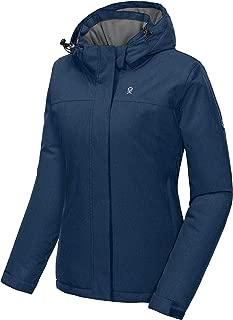 Little Donkey Andy Women's Waterproof Ski Snowboarding Jacket Warm Winter Coat with Detachable Hood