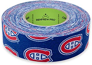 Renfrew NHL Team Cloth Hockey Tape (Montreal Canadiens)