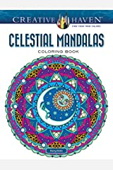 Creative Haven Celestial Mandalas Coloring Book (Creative Haven Coloring Books) Paperback