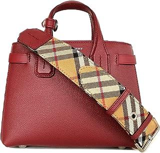 d7f39c9847 BURBERRY , Sac bandoulière pour femme Rouge magenta mini