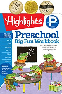 The Big Fun Preschool Activity Book: Build skills and confidence through puzzles and early learning activities!