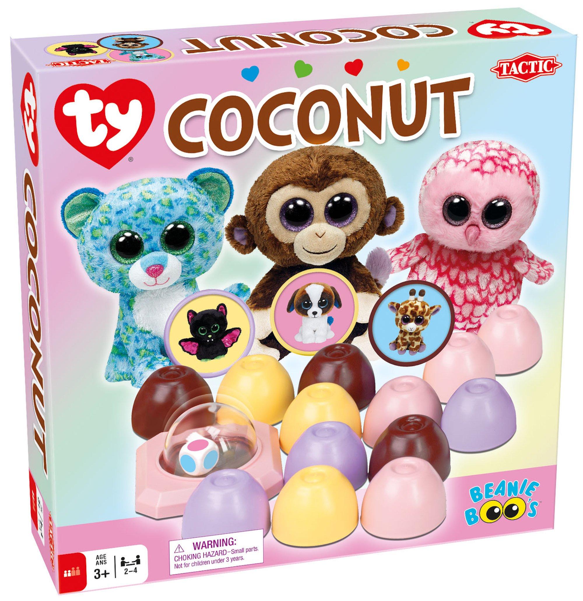 Juego de mesa tactic, coconut ty: Amazon.es: Juguetes y juegos