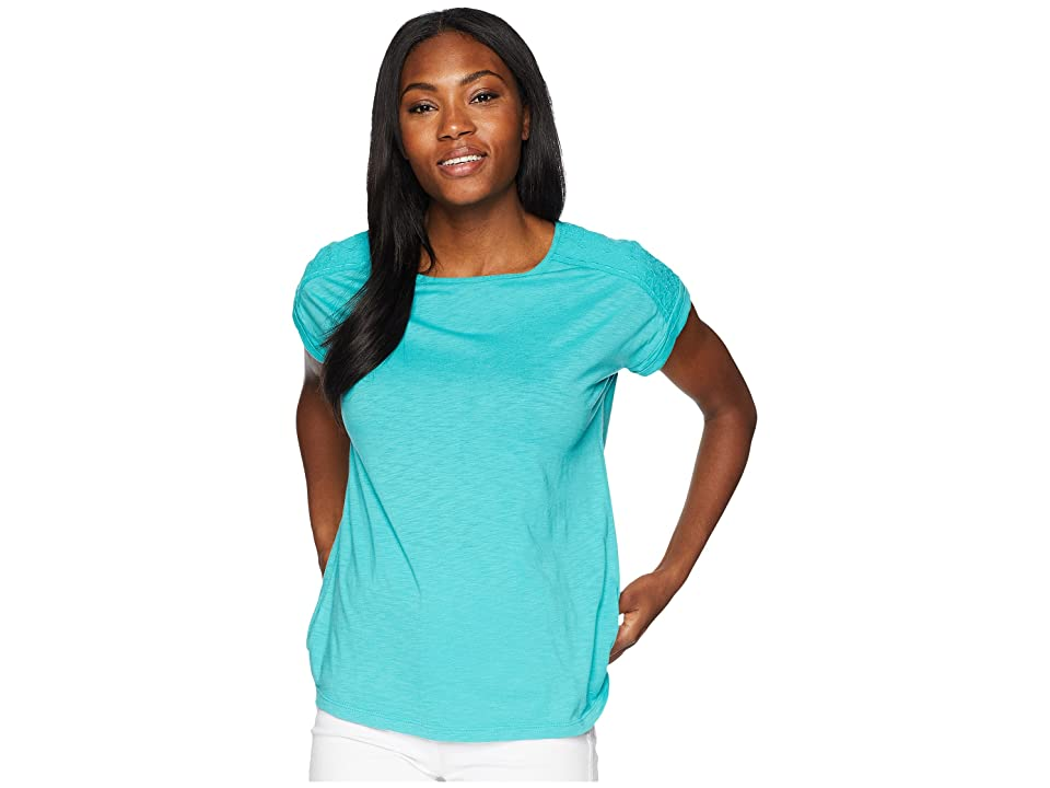 Aventura Clothing Susanna Short Sleeve Top (Baltic) Women